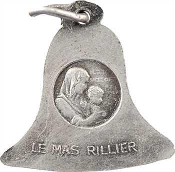 IIe Guerre Mondiale, pendentif, la cloche du Mas Rillier, 1941 Paris