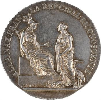 Italie, République Cisalpine, écu de 6 lire, An VIII (1800) Milan