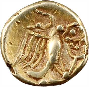 Carnutes, huitième de statère à l'aigle et rosace, c.IIe-Ier s. av. J.-C.