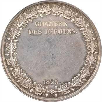 Charles X, Chambre des députés, 1825 Paris