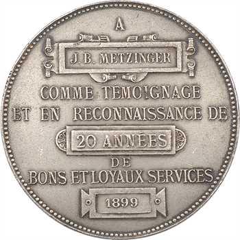 IIIe République, hommage de la faïencerie de Choisy-le-Roy, 1899 Paris