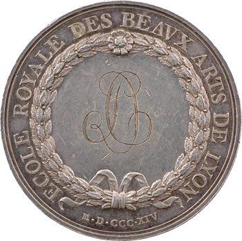 Louis XVIII, École royale des Beaux-Arts de Lyon, par Chavanne, 1814