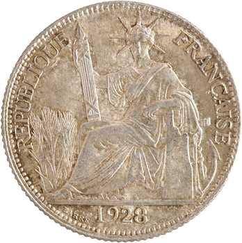 Indochine, 20 centièmes, 1928 Paris