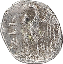 Judée [Égypte], sous Ptolémée II (?), domination ptolémaïque, hémiobole, s.d. (c.302-246 av. J.-C.)