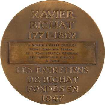 IVe République, les Entretiens de Bichat au Préfet Damelon (médecine), par Delamarre, s.d