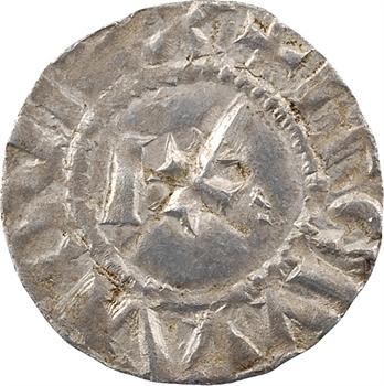 Langres (évêché de), denier immobilisé au nom de Louis IV ou V (besant 1), c.950-1000