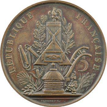 Algérie, Alger, exposition agricole, prix de fruits divers, 1851 Paris
