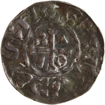 Allemagne, Regensburg, Henri II, denier du monétaire NC, s.d. (1002-1009) Nabburg