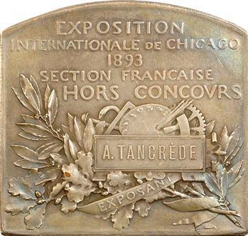 Roty (L.-O.) : Exposition internationale de Chicago (exposant), 1893 Paris