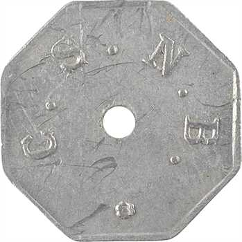 Madagascar, compagnie sucrière de Nossi-Bé (CSNB), 10 centimes, s.d