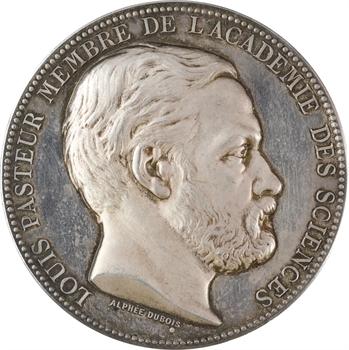 Dubois (A.) : Louis Pasteur (industrie de la soie d'Aubenas), 1882 Paris