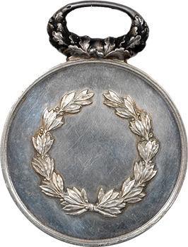 IIIe République, Reims et sa société de tir la Sentinelle, médaille d'argent, 1870