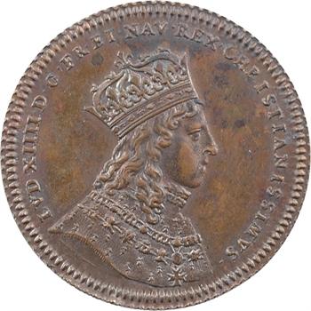 Louis XIV, sacre à Reims le 7 juin 1654, cuivre, 1654 [1845-1860] Paris