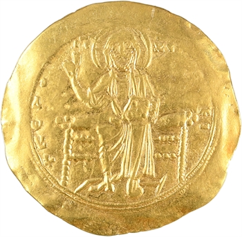 Alexis Ier, hyperpyron (scyphate), Constantinople, 1092-1118
