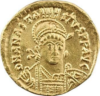Anastase, solidus, Constantinople, 10e officine, 491-498