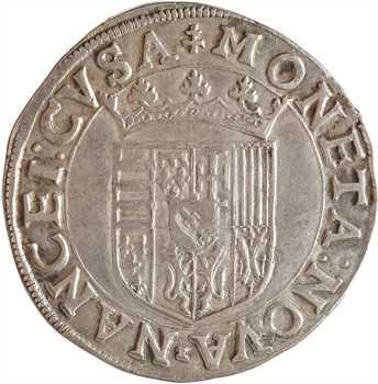 Lorraine (duché de), Charles III, teston, s.d. (1564-1574) Nancy