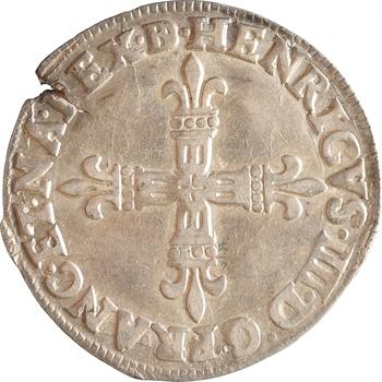 Henri IV, quart d'écu de Béarn, 1602 (160Z) Morlaàs