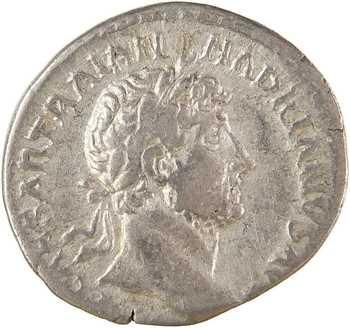 Hadrien, denier, Rome, 119-122