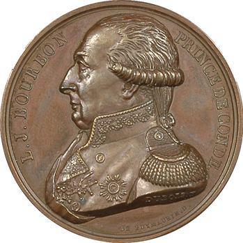 Louis V Joseph Prince de Bourbon-Condé, par Dubois, 1817 Paris