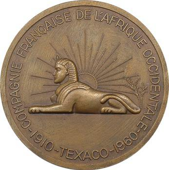 A.O.F., Texaco, cinquantenaire de la Compagnie Française de l'Afrique Occidentale, 1910-1960