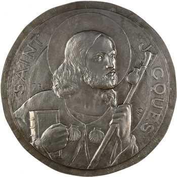 Rasumny (F.) : Saint Jacques de Compostel, galvanoplastie, s.d