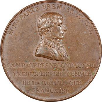 Consulat, Colonne nationale de la place Vendôme, 1800 Paris