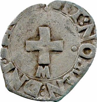 Henri II, liard à l'F, Toulouse