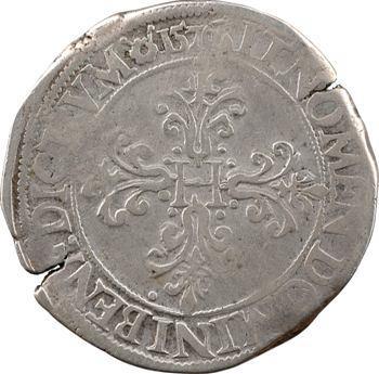 Henri III, franc au col plat, 1576 Rouen