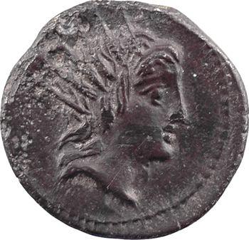 Lucretia, denier, Rome, 76 av. J.-C.