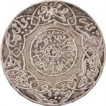 Maroc, Abdül Aziz I, 5 dirhams, AH 1314 (1896) Paris