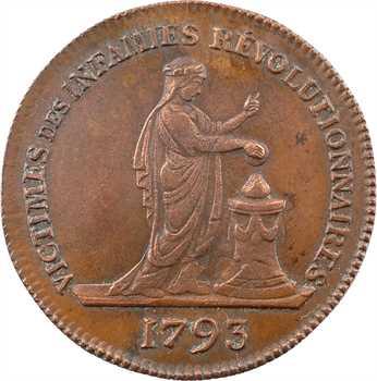 Mort de Marie-Thérèse-Charlotte, 1793 (Restauration) Paris