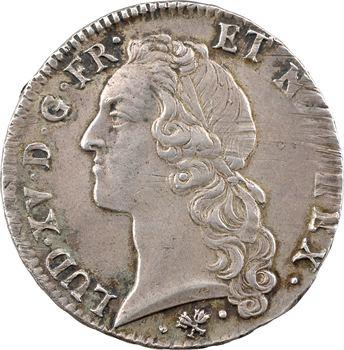 Louis XV, écu au bandeau, 1764 Bayonne