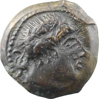 Loire moyenne, Turons ?, bronze de Karitha, c.70-50 av. J.-C