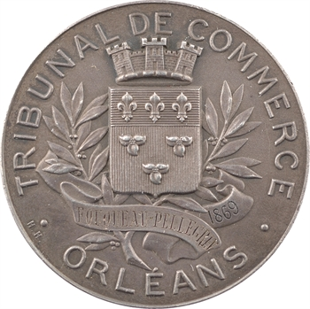 Second Empire, le Tribunal de Commerce d'Orléans à Fouqueau-Pellegrin, 1869 Paris