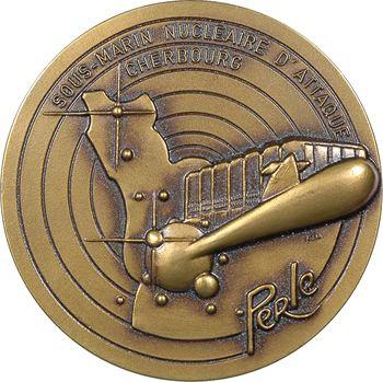 Ve République, le sous-marin nucléaire d'attaque Perle, s.d