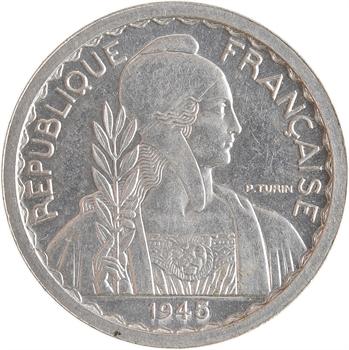 Indochine, essai de 10 centièmes, 1945 Paris