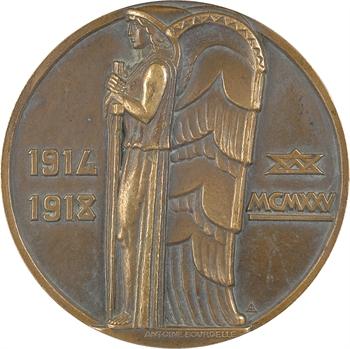 Lavrillier (A.) : monument de l'Hartmannswillerkopf (68), à François Coty (Corse), 1925 Paris (gros module)