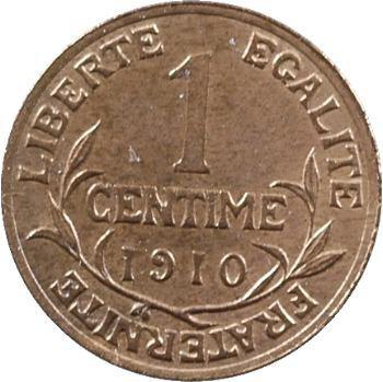 IIIe République, 1 centime Daniel-Dupuis, 1910 Paris