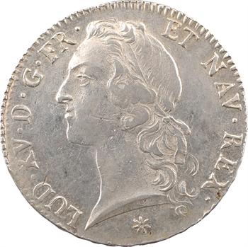 Louis XV, écu au bandeau, 1748 Toulouse