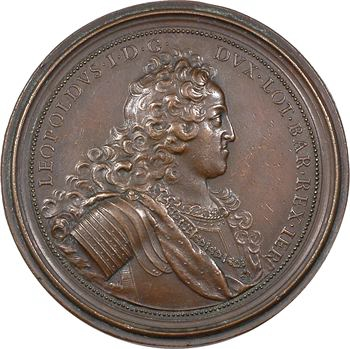 Lorraine (duché de), Léopold Ier, restauration des ponts, par Saint-Urbain, 1727 Nancy