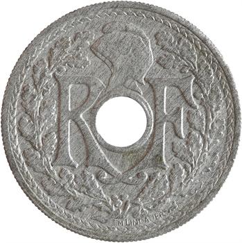 Gvt provisoire, 20 centimes Lindauer, 1945 Beaumont-le-Roger