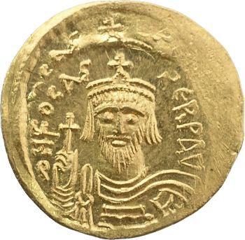 Phocas, solidus, Constantinople, 607-610