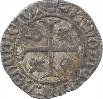 Charles VIII, liard au dauphin 2e émission, Troyes