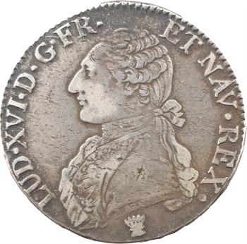 Louis XVI, écu aux branches d'olivier, 1779 Limoges