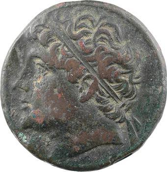 Sicile, Syracuse, Hiéron II, moyen bronze, 275-215 av. J.-C.