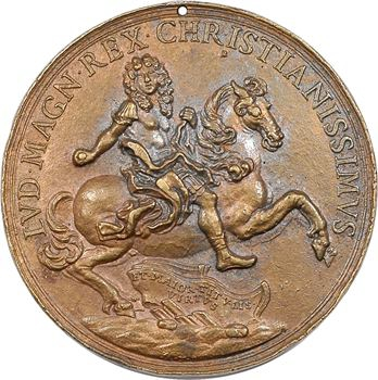 Louis XIV, Unité de l'Église et de l'État, par Antonio Travani, s.d