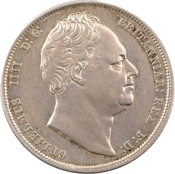 Royaume-Uni, Guillaume IV, demi-couronne (halfcrown), 1836 Londres