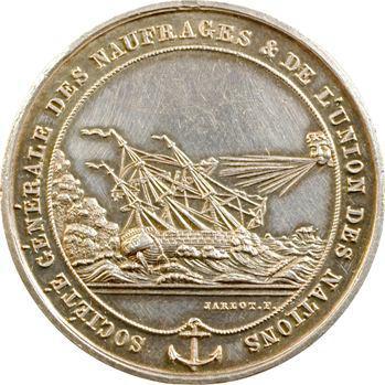 Société Générale des Naufrages par Jarlot, 1835 Paris