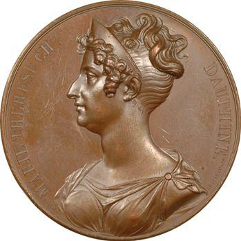 Duchesse d'Angoulême, inauguration du canal Marie-Thérèse, 1825 Paris