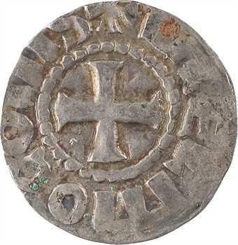 Auvergne (comté d'), Guillaume I ou II, denier immobilisé, Brioude, c.930-980